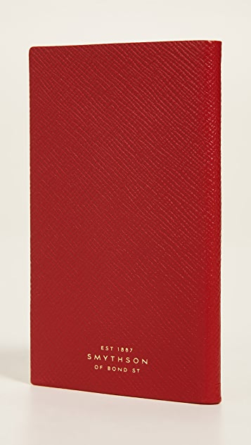 Smythson 2019 Diary Panama Notebook
