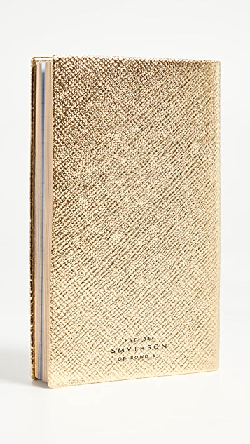 Smythson Busy Bee Panama Notebook