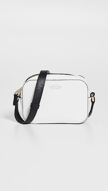 Smythson Panama Mini Camera Bag