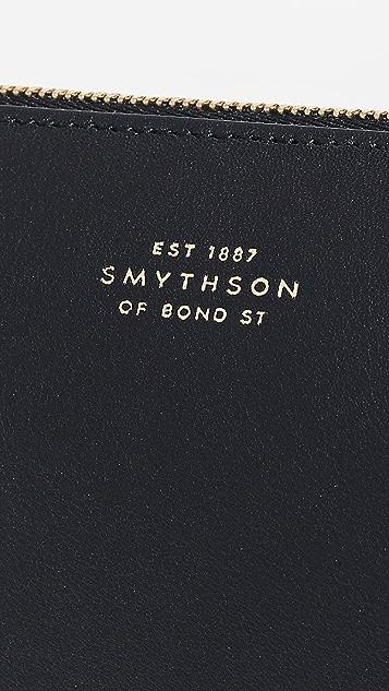 Smythson 大号枕形手包