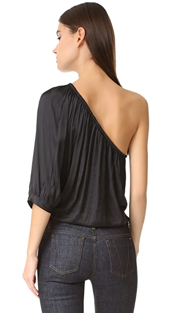 SMYTHE Single Shoulder Blouse