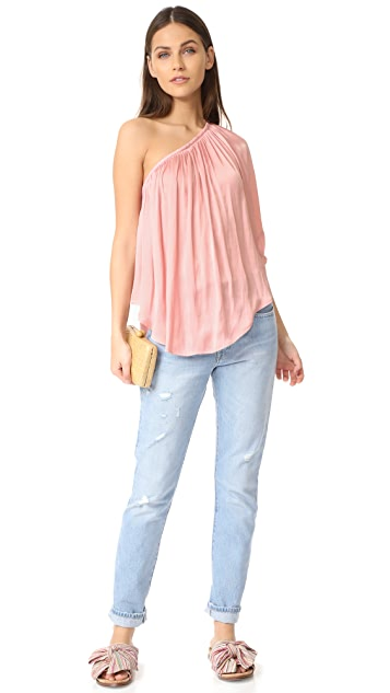 SMYTHE Single Shoulder Top
