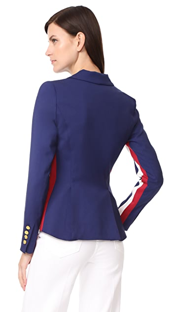 SMYTHE Racing Stripe Blazer