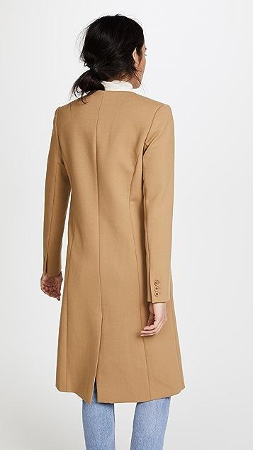 SMYTHE Пальто с узкими лацканами