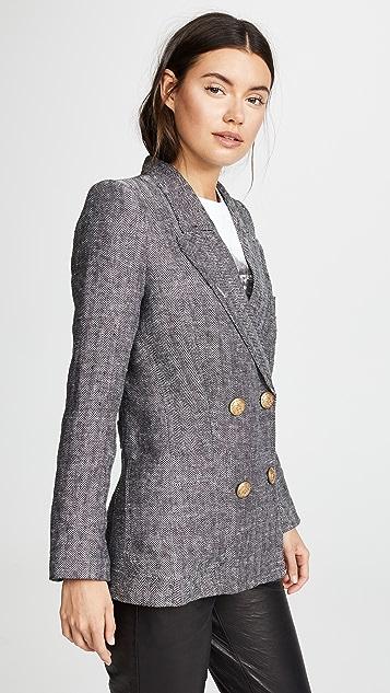SMYTHE Unstructured Linen Blazer