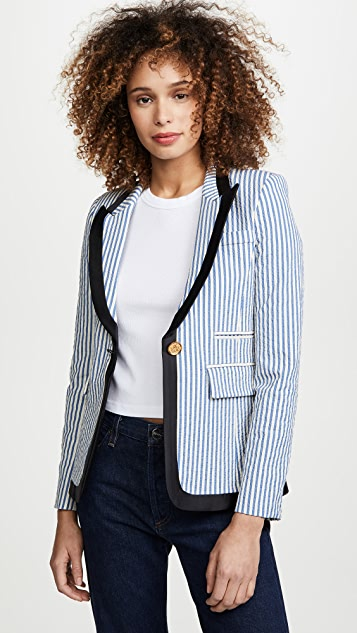 SMYTHE Taped Lapel Blazer