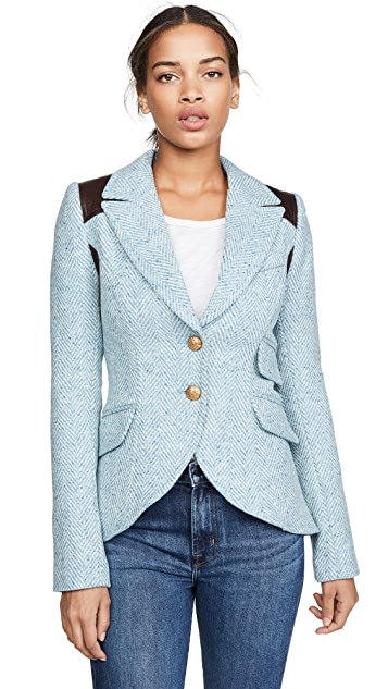 SMYTHE Rifle Patch Equestrian Blazer