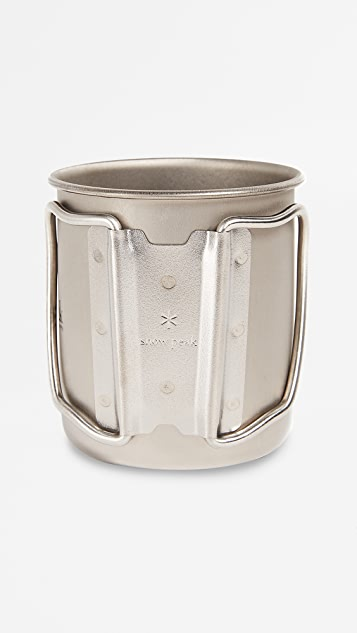 Snow Peak Titanium Single Wall 300 Mug