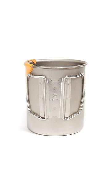 Snow Peak Titanium Single Wall 600 Mug with Lip Protector