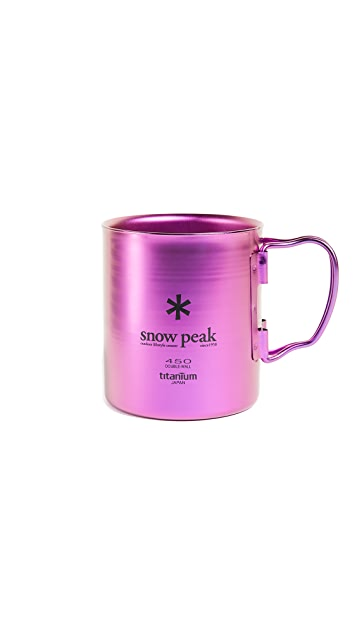 Snow Peak Titanium Double Wall 450 Mug