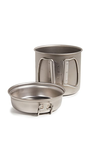 Snow Peak Titanium Trek 900 Cook Set