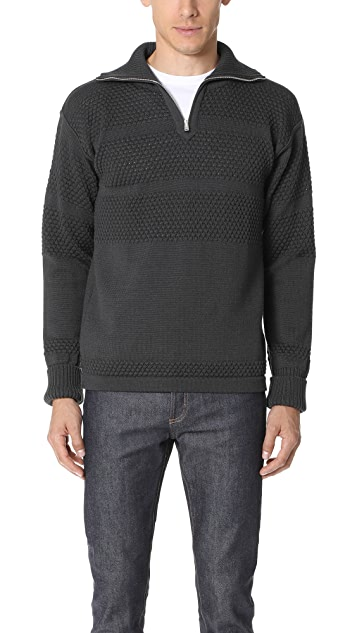 S.N.S. Herning Fisherman Zip Sweater