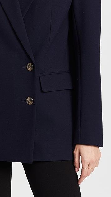 Something Navy Double Breasted Blazer