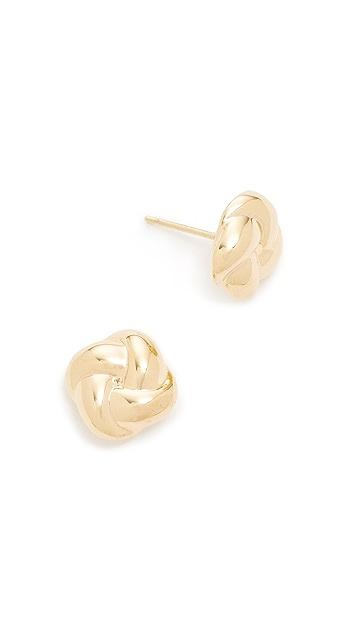 Soave Oro Celine Stud Earrings