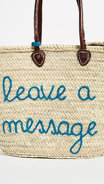 Soeur Du Maroc Leave a Message Tote