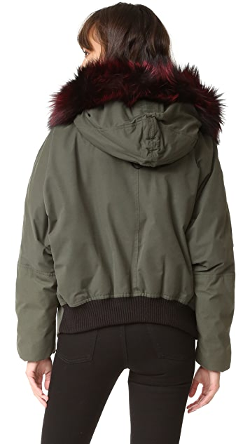 Soia & Kyo Madelyn Parka with Fur
