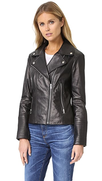 Soia & Kyo Maritza Leather Jacket