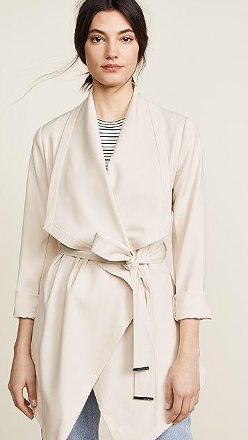 Soia & Kyo Shannyn Draped Coat