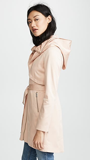 SOIA & KYO Arabella Trench Coat