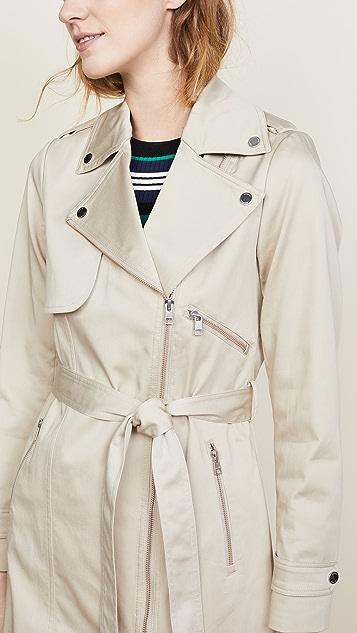 SOIA & KYO Athena Trench Coat