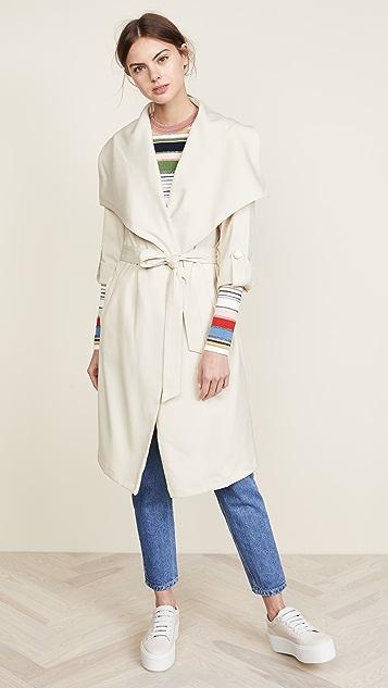 Soia & Kyo Ornella Draped Coat