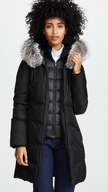 976d2e8618b Soia   Kyo Christy Brushed Down Coat