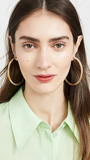 Soko Large Horn Hoop Earrings