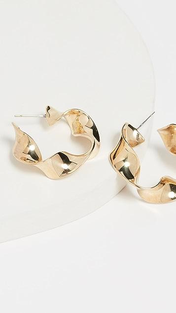 Soko Миниатюрные крупные серьги-кольца Joy