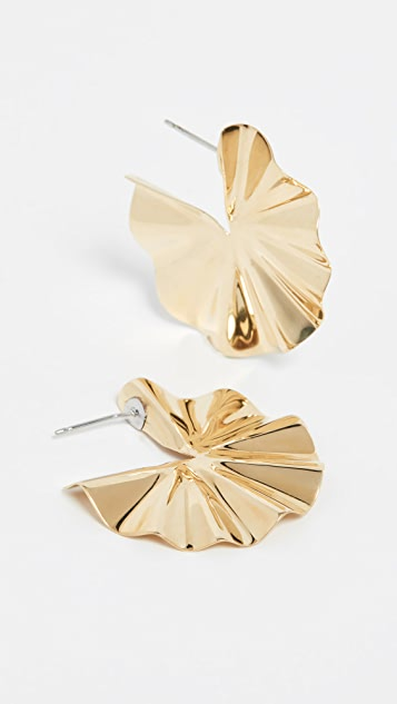 Soko Bidu 圆形圈式耳环