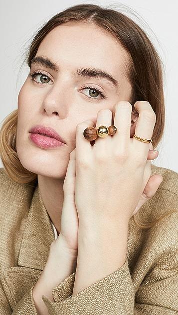 Soko Коктейльное кольцо Dilys из тика