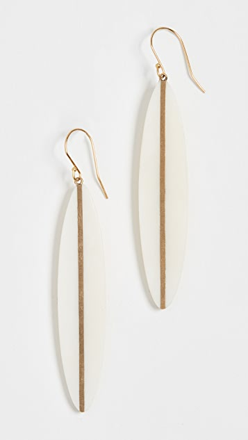 Soko Panra Horn Dangle Earrings