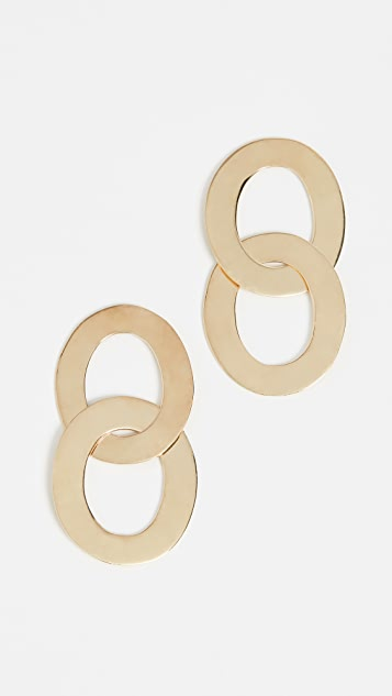 Soko Maxi Linked Drop Earrings