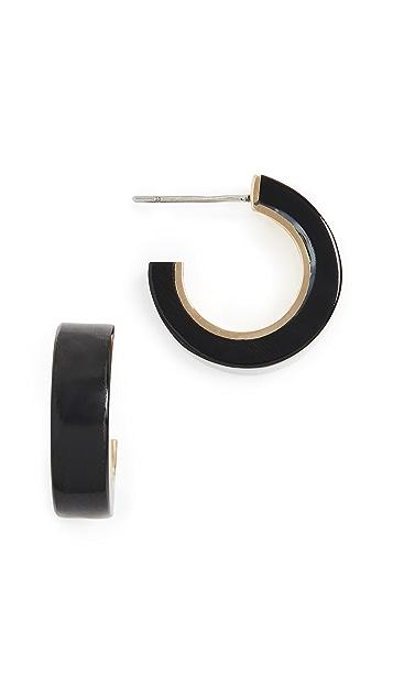 Soko Миниатюрные серьги-кольца Sana с отделкой рогом
