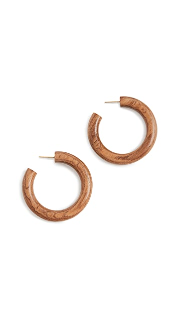 Soko Arlie Wood Hoops