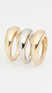 Soko Fanned Ring Stack