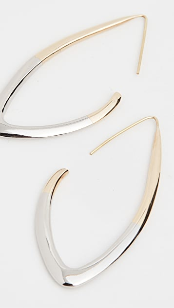 Soko Tulla Outline Threader Earrings