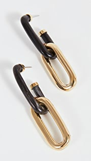 Soko Horn Capped Link Earrings