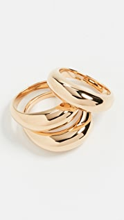 Soko Fanned Stacking Rings