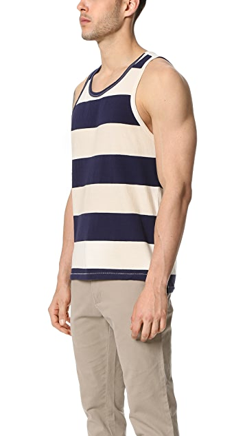 Sol Angeles Rugby Stripe Split Tank
