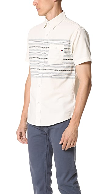 Sol Angeles Ikat Short Sleeve Shirt