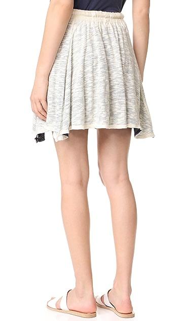 Sol Angeles Playa Spray Layered Skirt