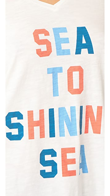 Sol Angeles Shining Sea Torque Tee