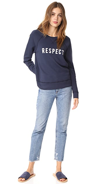 Sol Angeles Respect Pullover Sweatshirt