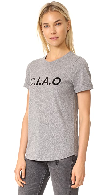 Sol Angeles Ciao Rolled V Tee