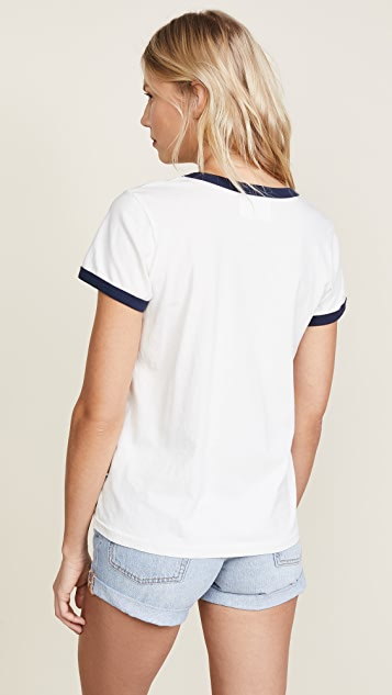 Sol Angeles Sailaway Ringer Tee