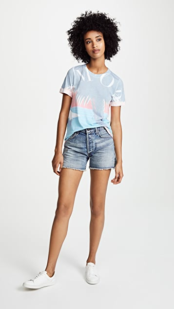 Sol Angeles Amore Palm Rolled Tee