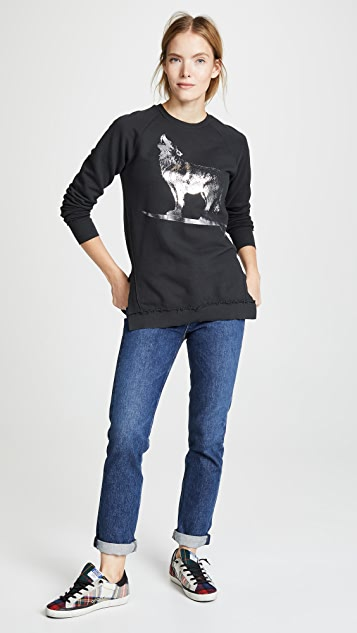 Sol Angeles Raw Wolf Rider Tunic Sweater