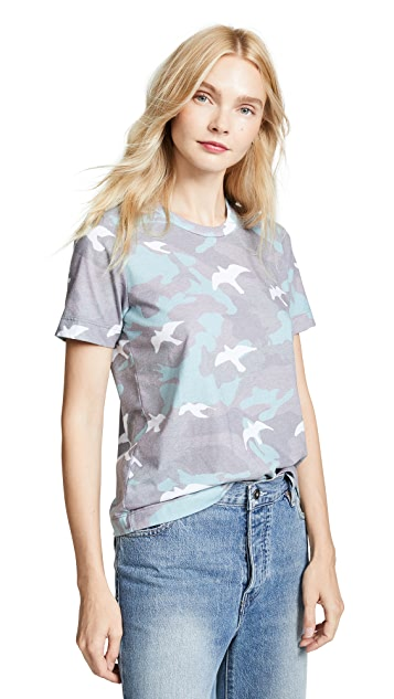 Sol Angeles Camo Flight Crew Tee