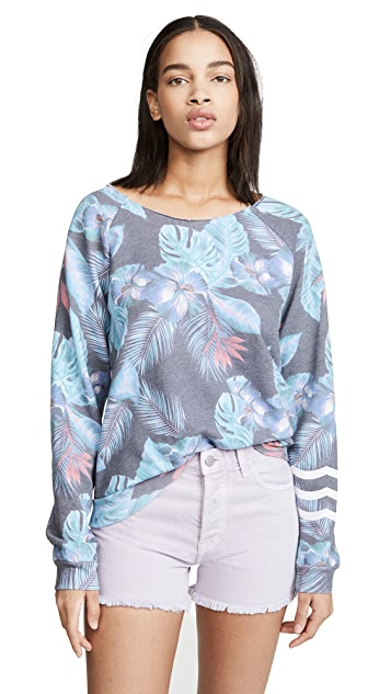 Sol Angeles Night Blooms Pullover
