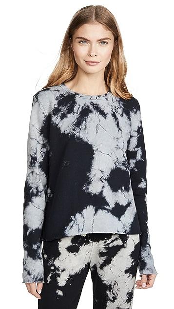 Sol Angeles 大理石纹短款套头衫